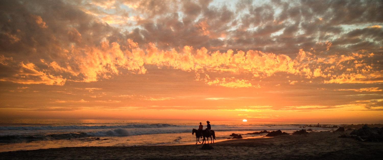 Troncones sunset