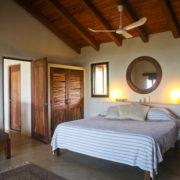 Casa Oasis Troncones Penthouse beachfront vacation rental ocean-view bedroom